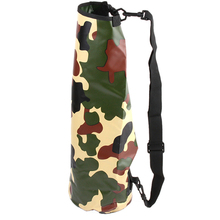2016 Portable Outdoor Travel Rafting Bags Waterproof Diving Dry Swimming Bag 5L 10L 20L TWO colors Camouflage Handbag(China (Mainland))