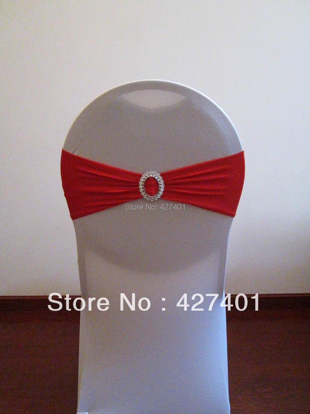 Здесь можно купить  Red Lycra Band With Oval Buckle for Wedding Decoration  Дом и Сад