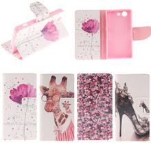Buy Luxury PU Leather Flip Sony Xperia Z3 Compact Case Sony Xperia Z3 Compact Mini M55W Stand Wallet Style Card Holder for $3.56 in AliExpress store