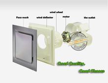 DROP SHIPPING Wholesale  Kitchen BathroomsToilets Bedroom Exhaust Fan bathroom exhaust fan ventilating fan 4