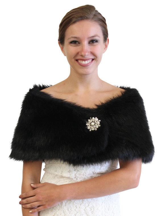 fausse fourrure veste de mari e mariage promotion achetez des fausse fourrure veste de mari e. Black Bedroom Furniture Sets. Home Design Ideas