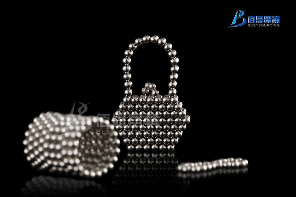 Silver 3mm Magnetic Magic Balls Neocube Puzzle Beads Neodymium Brand New(China (Mainland))