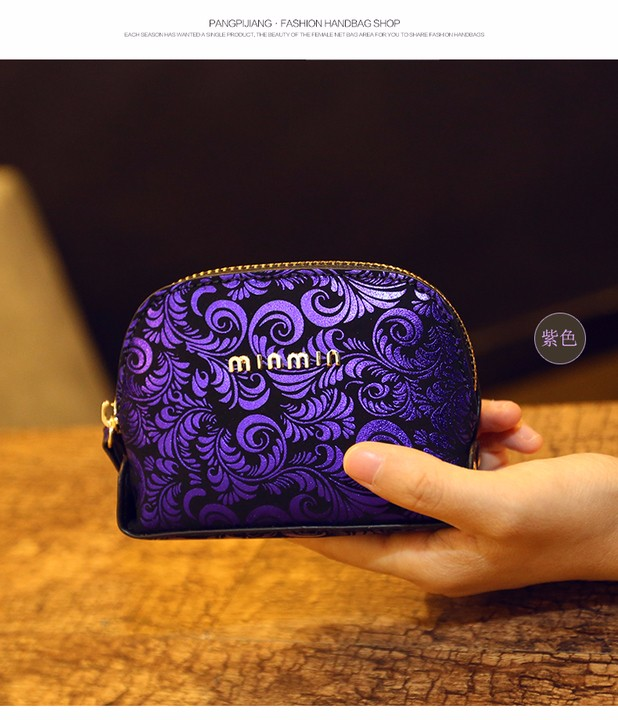 Female coin purse women lady  Leather Card Holder Mini Wallet Clutch (6)