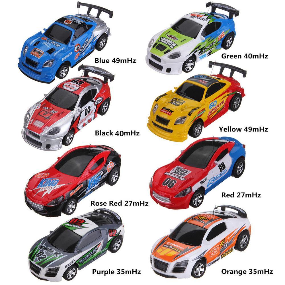 Artistic Can Coke Distant Management Mini Pace RC Micro Racing Automobile Autos