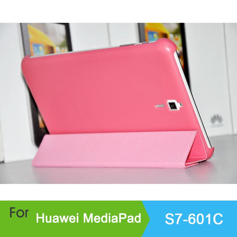 Case Huawei Mediapad 7 Vogue S7-601C 601U S7-601W inch Tablet PC Smart cover Folding Flip Leather S7 - HK GX-Tech Co.,Ltd store
