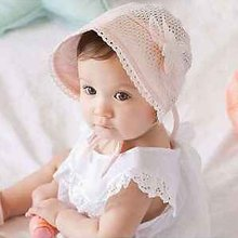 Sweet Lovely Cute Princess Children Kids Girls Baby Hat Beanie Pink New Lace Floral Caps SUY(China (Mainland))