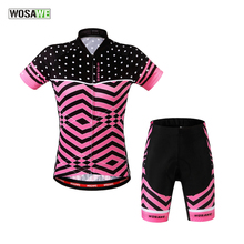 Buy WOSAWE 2017 Summer Breathable Mountain Pro Womens Cycling jerseys Quick-Dry Short sleeve Cycling Clothing Pad Sportswear for $27.99 in AliExpress store