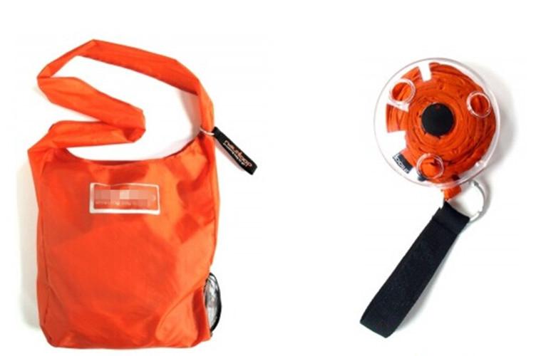 The Wound Up shopping Bag fashion magic mini shopping stored folded bag Travel shopping bag Novelty Creative Gift Free Shipping(China (Mainland))