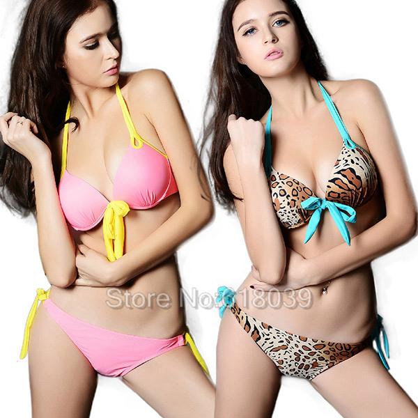 B032 VS Push Up Padded Victoria Bikini Set Swimwear For Women Sexy Swimsuit Brand Beachwear Retro Biquini Bathing Suit Sale 2013Одежда и ак�е��уары<br><br><br>Aliexpress