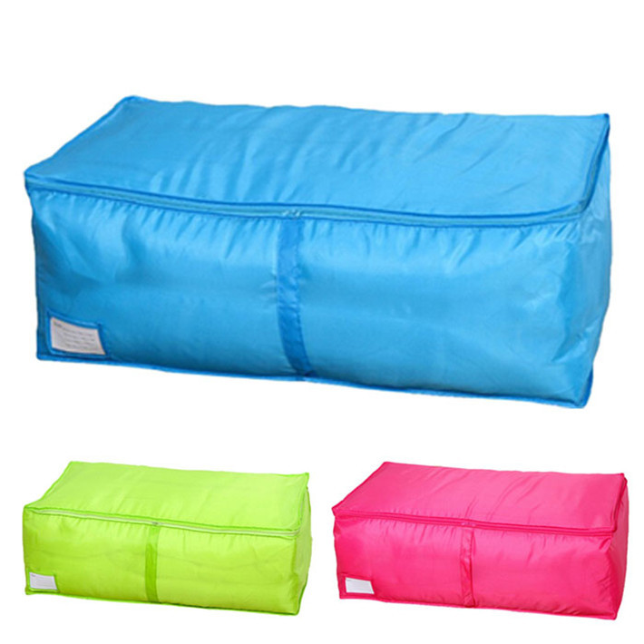 Durable Large Size Clothing Boxes 3 Colors Quilts Sorting Underwear Organizer Storage Bag(China (Mainland))