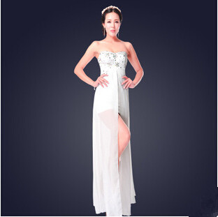 2015 Hot Sell Fashion Women Dress New Arrival Sleeveless Strapless Party Dresses Waistline Natural A_ line Dress Sexy Dress Одежда и ак�е��уары<br><br><br>Aliexpress