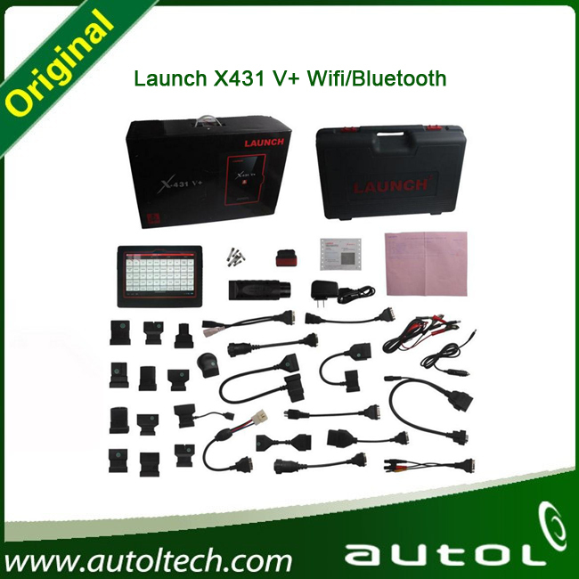 2015 Launch X431 V+ X431 Pro 3 Wifi Bluetooth Full System Scanner X431 V Plus Update Online Replace X 431 IV and Diagun III(China (Mainland))