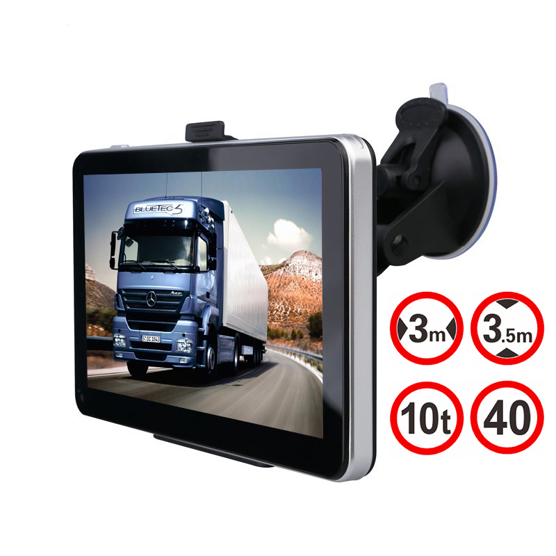 Tom 7 inch Car GPS Navigation 128MB 800Mhz 8GB Wince 6.0 Full Europe/USA/ Russia navitel navigator Sat Nav Truck vehicle gps(China (Mainland))