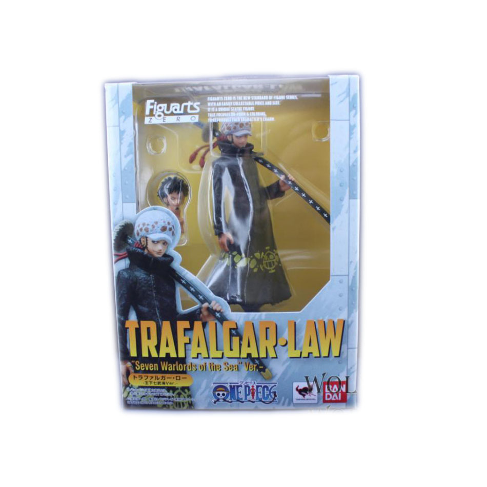 1pcs/set Japan One Piece Law Merry Ship Figure New World Zero Luffy Trafalgar Japanese PVC 16 CM Boxed Limit Garage Toys(China (Mainland))