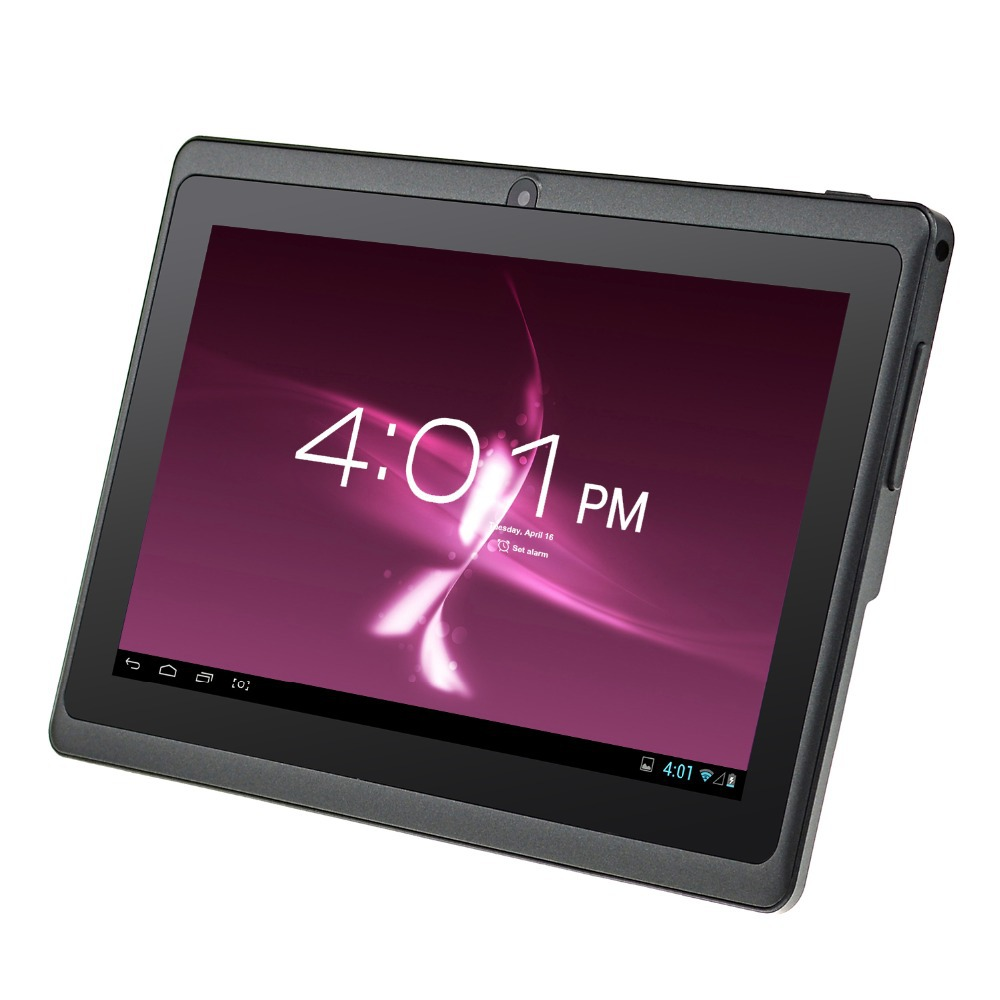 ALLDAYMALL A88S 7 inch Android 4 4 Tablet PC Allwinner Quad Core Dual Camera External 3G