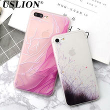 Buy Luxury Colorful Flowers Relief Soft TPU Phone Cases Apple iPhone 7 6 6s Plus Back Cover Case Capa Coque Fundas iPhone 7 for $2.69 in AliExpress store