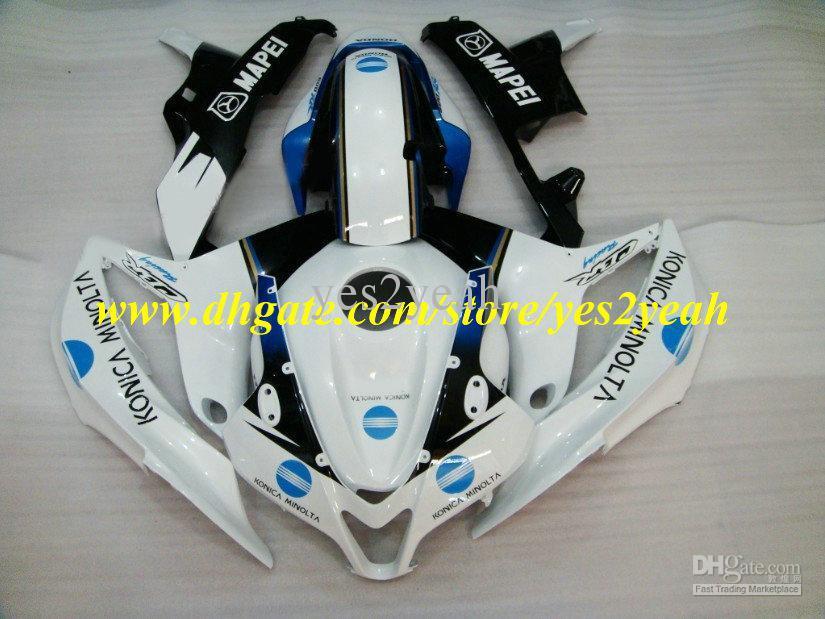 Wholesale - 2013 Injection for honda CBR600RR fairing kit CBR 600RR F5 2007 2008 07 08 cbr600rr fairings MAPEI White body kit +7(China (Mainland))