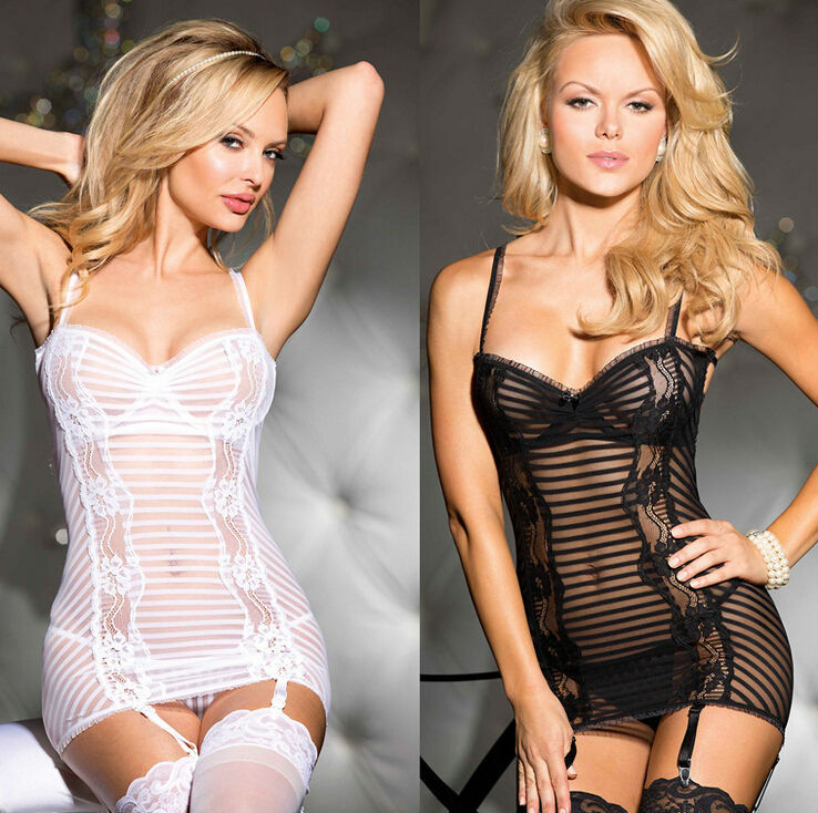 Wedding Bridal White Lingerie,Mesh Babydoll,Sexy Lingerie,Halter Mesh Chemises Sex Products,Women Pajamas and Sleepwear(China (Mainland))