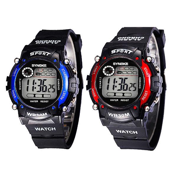 Multifunction LED Digital Waterproof Alarm Kids Child Boy Sports Wrist Watch(China (Mainland))
