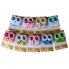 0-6months all for children clothing and accessories novelty baby socks baby girl socks newborn baby socks anti slip B018