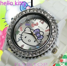 hello kitty plastic watch promotion