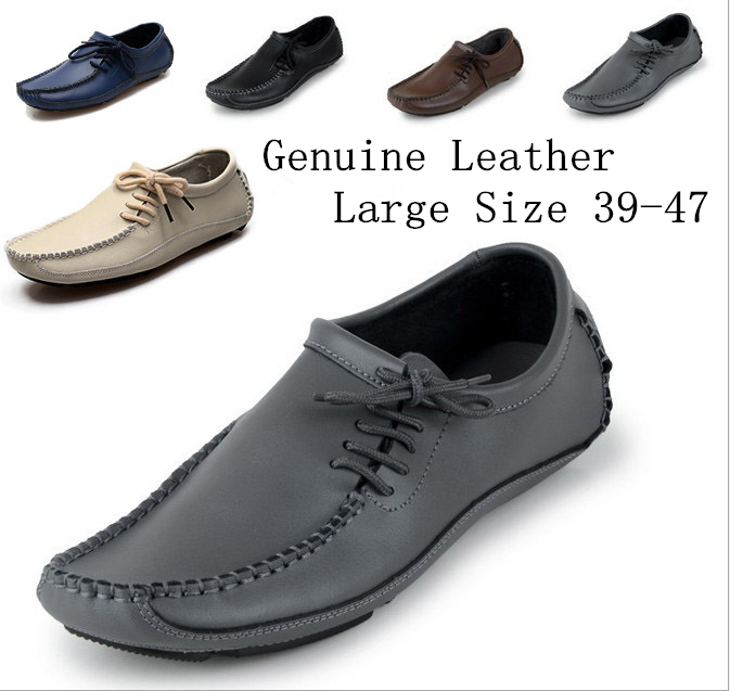 2016 Fashion Men loafers Shoes Summer Cool Winter Warm Leather Shoes Men's Flats Shoes Low Mens casual Oxford Shoe for Men651-3