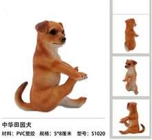 1/6 escala estilo yoga resina animal estatueta gato cachorro dubin pug decoração estátua para 12 polegadas figura de ação para coleção(China)