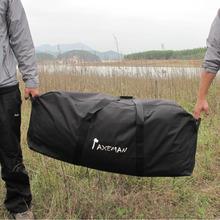 Portable Duffle Bag Outdoor Large Capacity Travel Bags Hiking Camping Car Admission Luggage Bag Waterproof Black 5 Sizes(China (Mainland))
