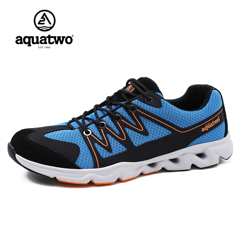 Aquatwo Mens Trail Running Sneakers Shoes For Men Runner ...