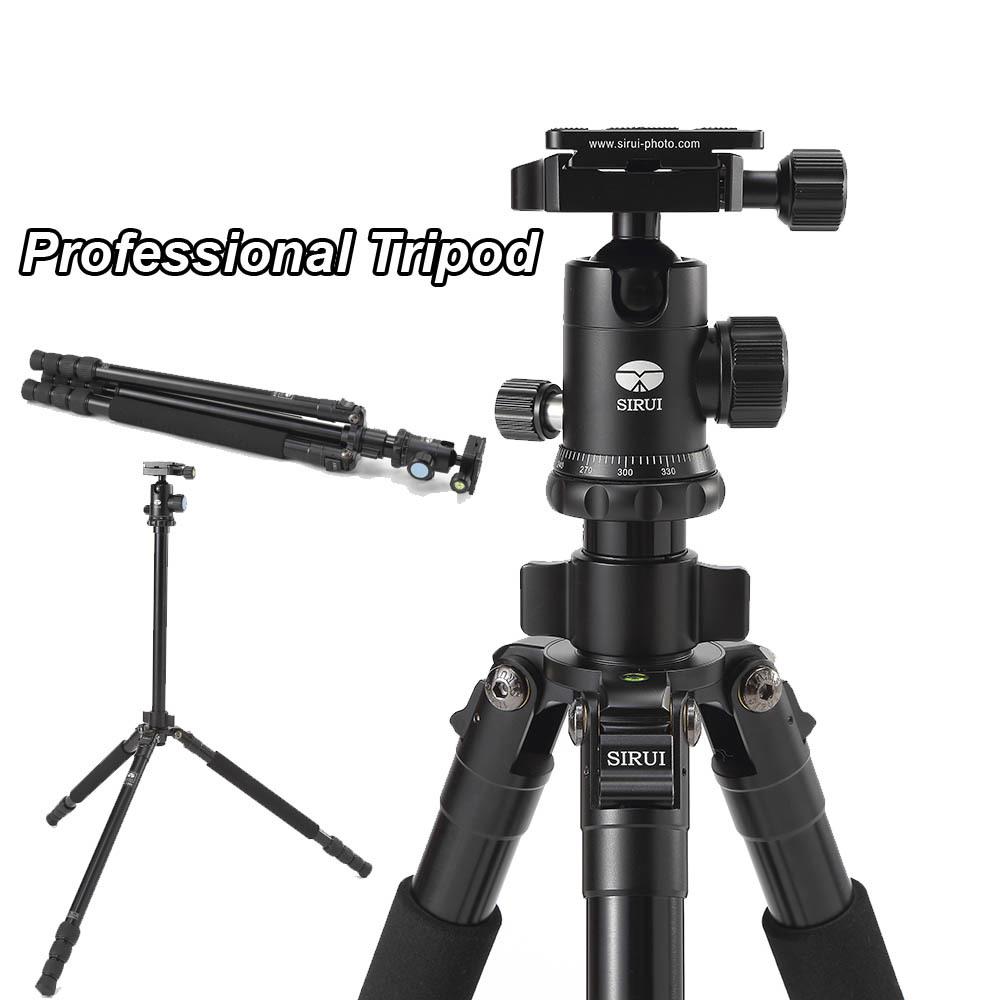 SIRUI R1004X Professional Portable DSLR Camera Tripod G10KX Ball Head Photography Aluminum Tripod Stand + Carrying Bag Load 10kg(China (Mainland))