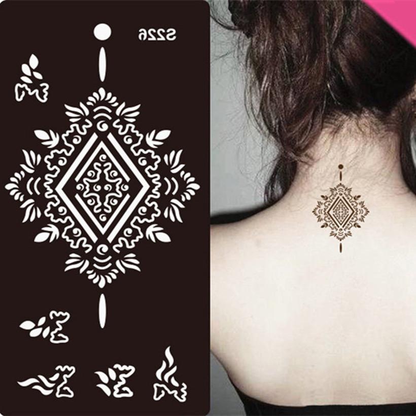 Stencils Tattoo Body Art Glitter Airbrush Template Air Brush Transfer stencils Temporary tatoos Templates Tattoo Stencil Tattoos