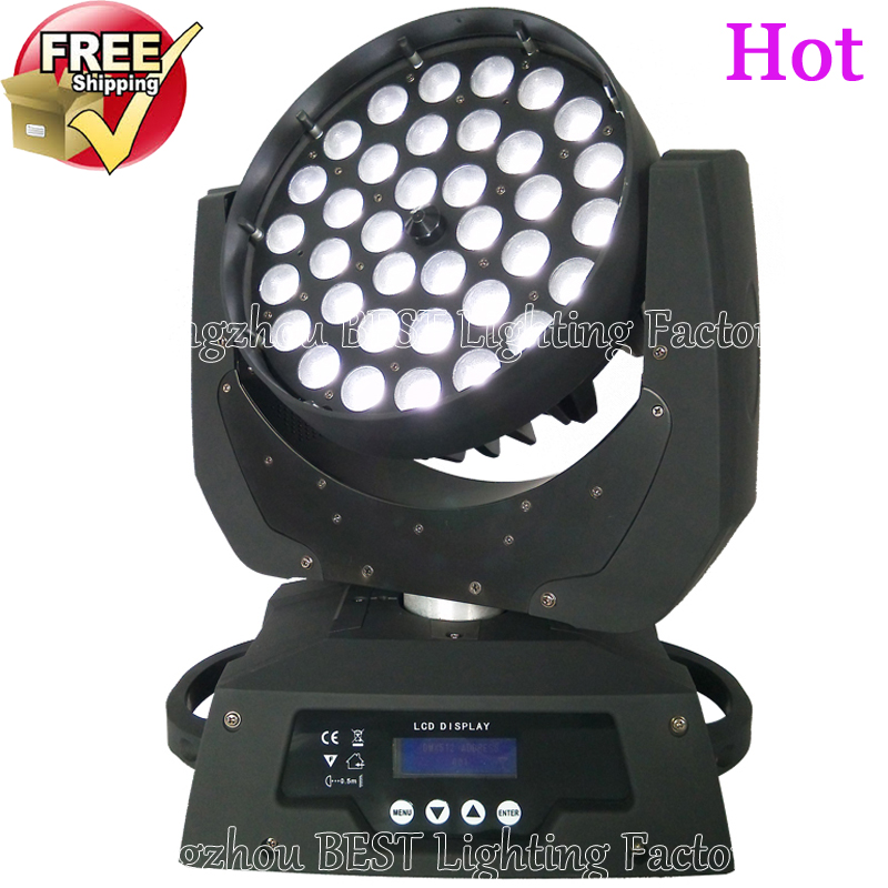 3pcs/lot led zoom wash moving head light 36x12w tianxin rgbw 4in1 dmx wash mobile head light(China (Mainland))