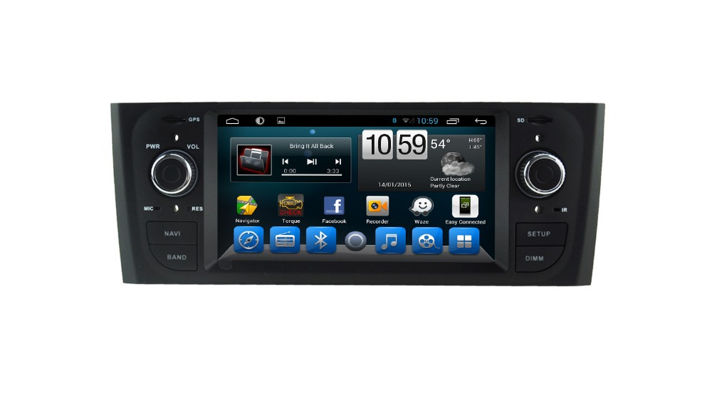 capacitive android 4 4 car multimedia gps for fiat grande punto linea old autoradio stereo with