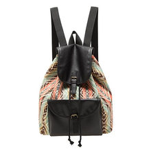 2016 Newest Medium Size Women's Fashion Vintage Backpack Canvas Backpacks  Girls' Rucksack Backpack Daily Bag