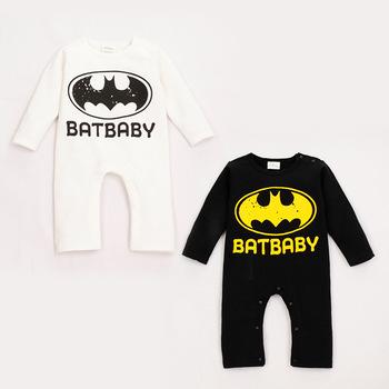 BATBABY Long Sleeve Batman Baby Romper Halloween Christmas Costume Gift