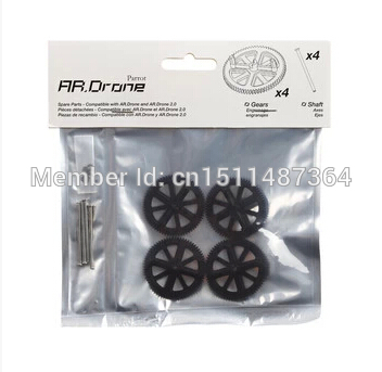 iPhone Parrot AR.Drone Gears Shaft Set RC Helicopter Free shipping(China (Mainland))