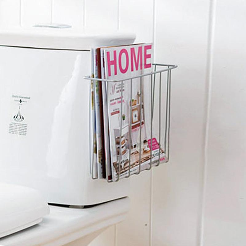 Home home toilet bathroom rack storage rack magazine rack kitchen cabinet wall storage rack(China (Mainland))