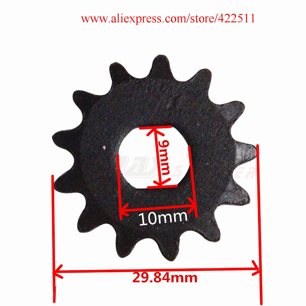 Electric Scooter Front Chain Sprocket 25H 13Teeth Electric Motor Sprocket Electric Scooter Motor Pinion(China (Mainland))