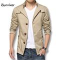 2016 Brand Men Jacket Fashion Autumn Men s Jackets Spring Gentleman Jacket Men Coats Plus Size
