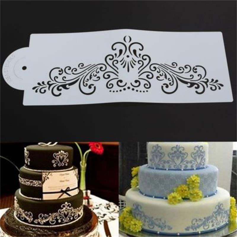 Трафареты на торте фото