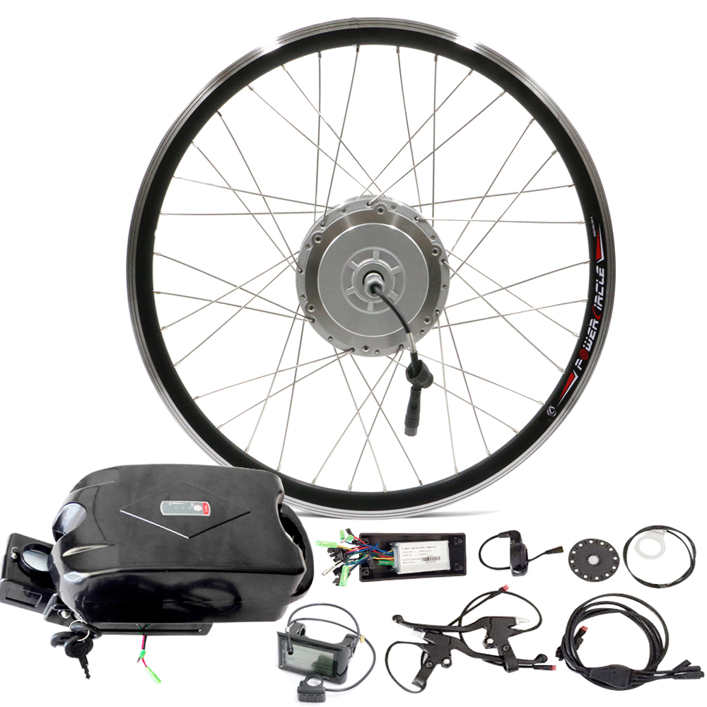 """Electric Bike Kit with 48v 10ah Frog Battery 250W 500W Hub Motor for 20"""" - 28"""" Wheel suitable for Folding E Bike velo electrique(China (Mainland))"""