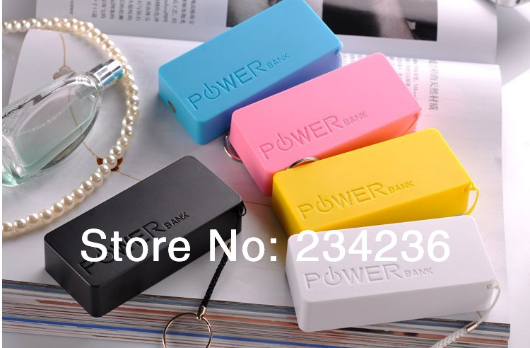18650 Perfume 2nd 5600mAh Universal USB External Backup Battery Power Bank Android Mobile Micro usb Charger Cable Chain - SOHOO store