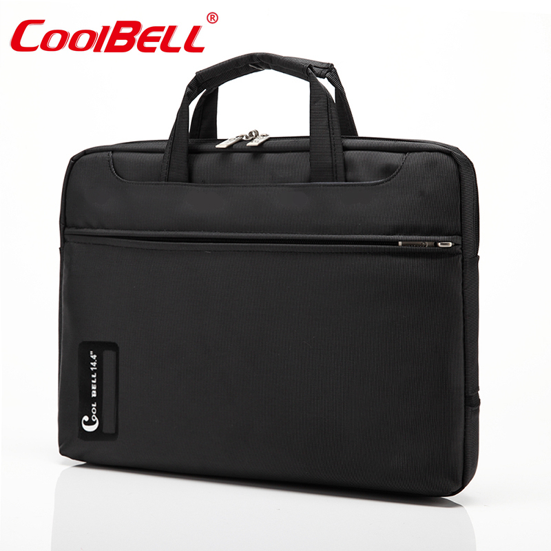 2015 new nylon black laptop bag for men notebook bag for11 12 13 14 15 15.6 inch computer accessories,casual laptop bag women(China (Mainland))