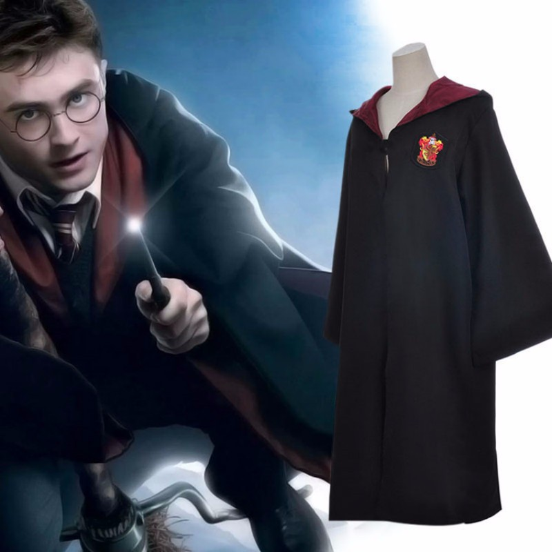 Harry Potter Robe Cosplay Costume Kids & Adults