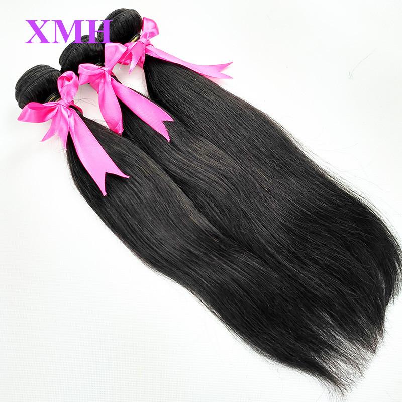 Mink Brazilian Virgin Hair Extension One Bundle Brazilian Hair Weave Bundles Virgin Hair Straight Human Hair For Sample Order