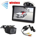 DIYKIT Wireless 5 inch TFT LCD Car Monitor Suction Cup and Bracket IR Night Vision Rear