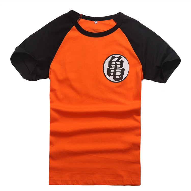 New Anime Dragonball Z Son Goku Cosplay Summer Short Sleeve T-shirt 100% Cotton Tops Tee Shirts Halloween Costume M-XXL  HTB1m4vnHFXXXXcoXFXXq6xXFXXXV