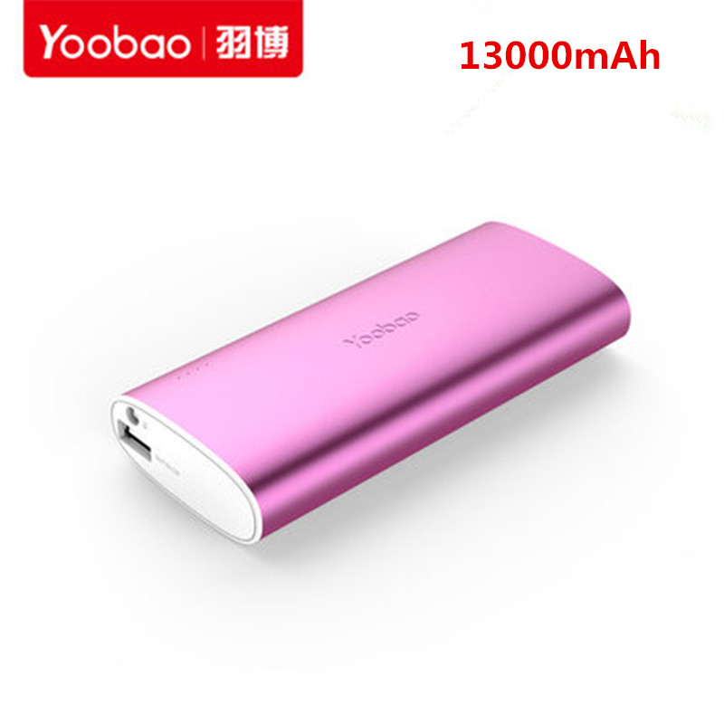 2016 New 100% Original yoobao power bank 13000mAh external battery pack portable charger USB output For phones pad(China (Mainland))