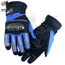 3 Colors Available motorcycle glove motocross gloves ATV Off-road Protective Gears moto dirt pit bike scooter parts Windproof