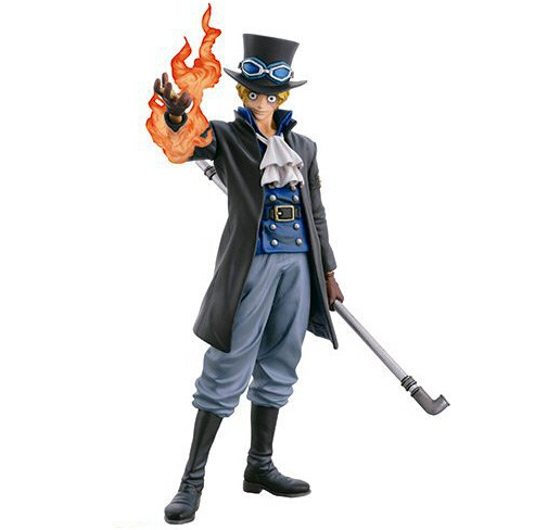 Wholesale 24pcs One piece A style New world version Sabo sailing action pvc figure toy tall 25cm in box via EMS.(China (Mainland))